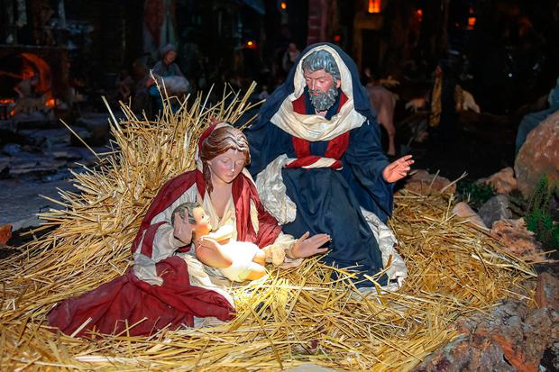 Nativity scenes are banned in some shopping centres