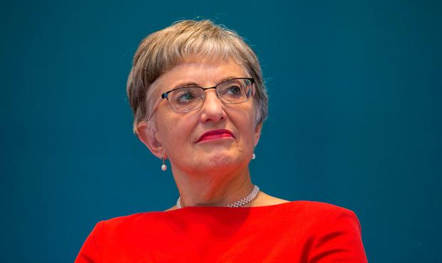 Serious challenges: Children's Minister Katherine Zappone. Picture: Collins