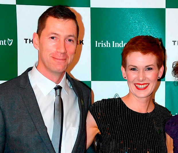 The four were selected by Olympians Sonia O'Sullivan and David Matthews (p), who teamed up to create the academy with backing from law firm Eversheds Sutherland Photo: Sam Barnes/Sportsfile