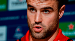 French focus: Conor Murray is 'excited' about the prospect of starting alongside Joey Carbery for the first time with Munster in Castres. Photo: Diarmuid Greene/Sportsfile