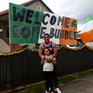 Bundee Aki got a special welcome on his return to New Zealand (Instagram/bundeeaki)