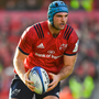 9 December 2018; Tadhg Beirne of Munster during the European Rugby Champions Cup Pool 2 Round 3 match between Munster and Castres at Thomond Park in Limerick. Photo by Brendan Moran/Sportsfile