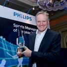 Philips Lighting Ireland named Joe Smith, Irish Rugby Coach as winner of the Philips Lighting Sports Manager of the Year for 2018. MAXWELLPHOTOGRAPHY.IE 12/12/18