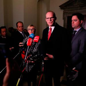 Praise: Tánaiste Simon Coveney said the country was the winner from the new agreement. Photo: Brian Lawless/PA Wire