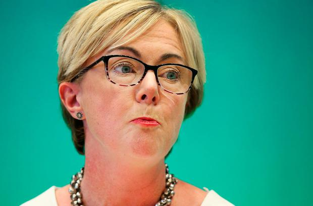 Regina Doherty: Minister hailed new legislation as 'ground-breaking'. Photo: Steve Humphreys