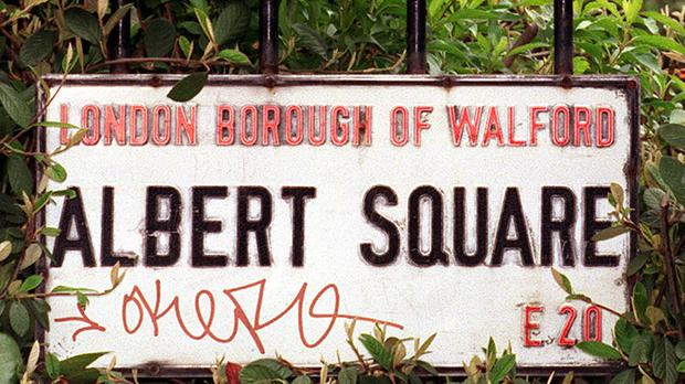 Albert Square, in the soap Eastenders (Andrew Stuart/PA)