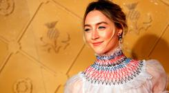 Actor Saoirse Ronan attends the European premiere of