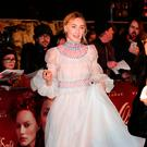 Saoirse Ronan arrives at the European premiere of Mary Queen of Scots at Cineworld Leicester Square, London
