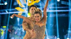 Ashley Roberts is motivated for Strictly final after her 'battle' to get there (Guy Levy/BBC)