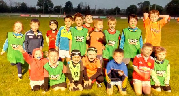 The Charleville and district minis at training