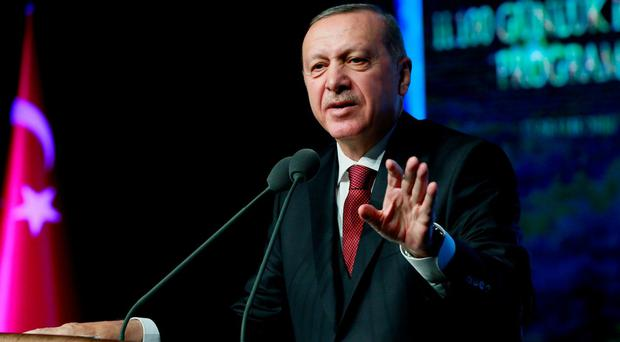Erdogan plans attack on US's Kurdish allies