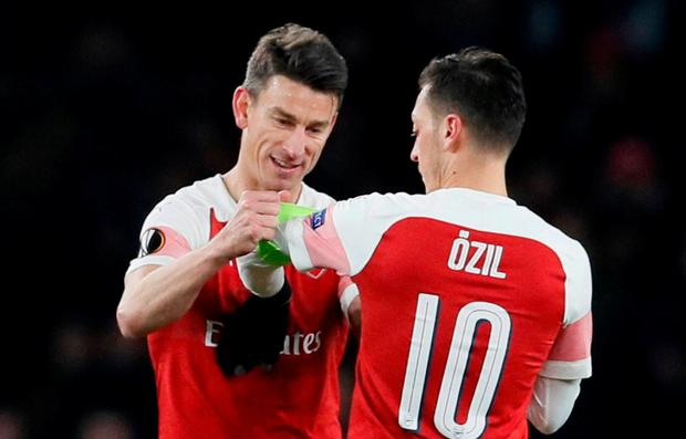 'I have my smile back!': Arsenal's Koscielny delighted with return from injury