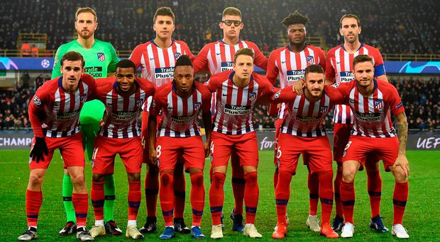 'Atletico Madrid are good enough to win the whole thing in their own stadium' Photo: AFP/Getty Images