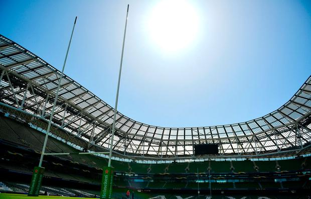 The Aviva Stadium has come to be the province's second home and a good one it has been too. Photo by Ramsey Cardy/Sportsfile