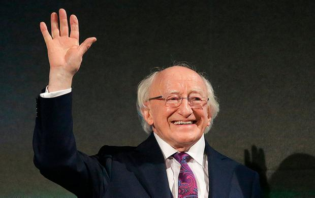 The President spent €40,000 on books and stationery. Photo: Damien Eagers