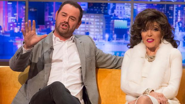 The stars both appear on The Jonathan Ross Show (Brian J Ritchie/Hotsauce/REX/Shutterstock)