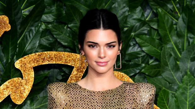 Kendall Jenner is the world's highest paid model, according to Forbes magazine (Ian West/PA)