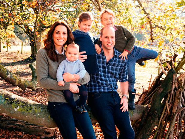 Royal couples reveal their 2018 Christmas cards
