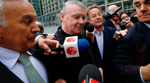 Paedophile Irish priest heads to Rome after serving sentence for child abuse in Chile