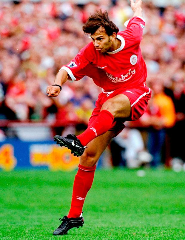 Patrik Berger was surprised by the lack of the sophistication at Liverpool. Photo: Ross Kinnaird /Allsport