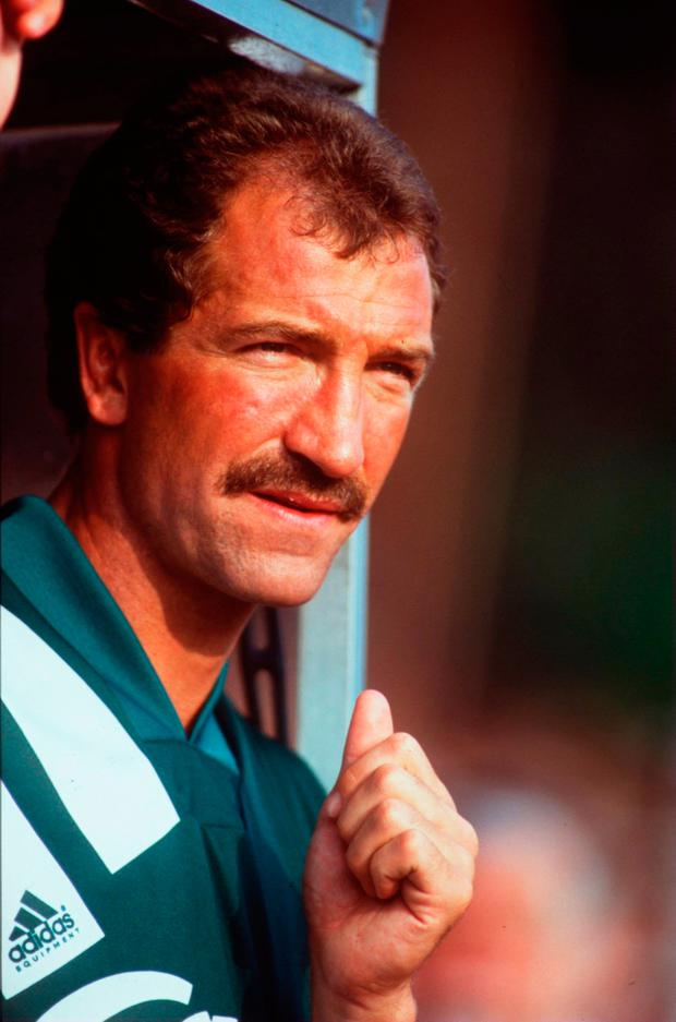 Graeme Souness saw the rivalry tilt in Manchester United's direction during his time as manager. Photo: Ben Radford/Allsport