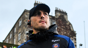 Girvan Dempsey is enjoying his role as attack coach at Bath but admits he is very ambitious when it comes to climbing up the coaching ladder. Photo: Ramsey Cardy/Sportsfile