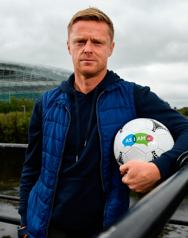 Former Chelsea player Damien Duff will take up the position with Celtic's second string on a full-time basis. Photo: Sam Barnes/Sportsfile