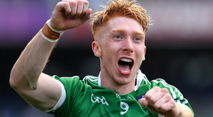 Cian Lynch had an outstandingly consistent year with Limerick which ended in All-Ireland glory. Photo: Sportsfile