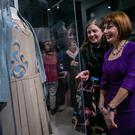 Loaded with history: Minister Josepha Madigan with curator Sinead McCoole at the pop-up museum 'Women in Politics and Public Life from 1918 to 2018' in Dublin Castle. Photo: Kyran O'Brien