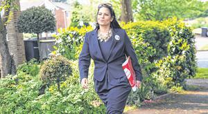 Former Tory cabinet minister Priti Patel called for the use of threats of food shortages against the Irish. Photo: Jack Taylor/Getty Images