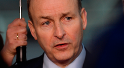 Fianna Fail leader Micheál Martin. Photo: Caroline Quinn