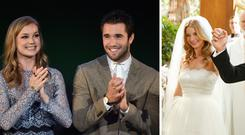 Life imitates art: Emily VanCamp and Josh Bowman wed in their tv show Revenge an in real life in the Bahams