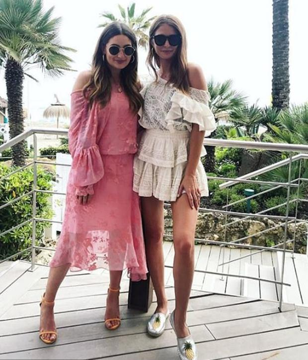 Courtney Smith and Millie Mackintosh. Picture: Instagram