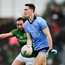 16 December 2018; Brian Fenton of Dublin in action against Graham Reilly of Meath during the Seán Cox Fundraising match between Meath and Dublin at Páirc Tailteann in Navan, Co Meath. Photo by Piaras Ó Mídheach/Sportsfile