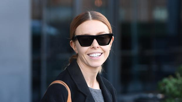 Stacey Dooley the morning after winning the Strictly Come Dancing 2018 final (PA)