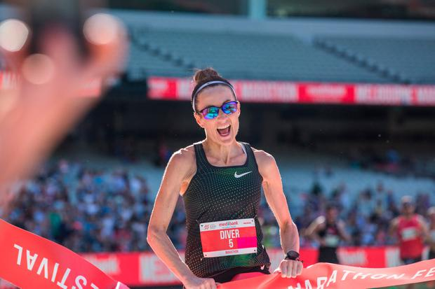 Mayo-born Sinéad Diver smashed her 10,000m personal best to win the Australian title last week.