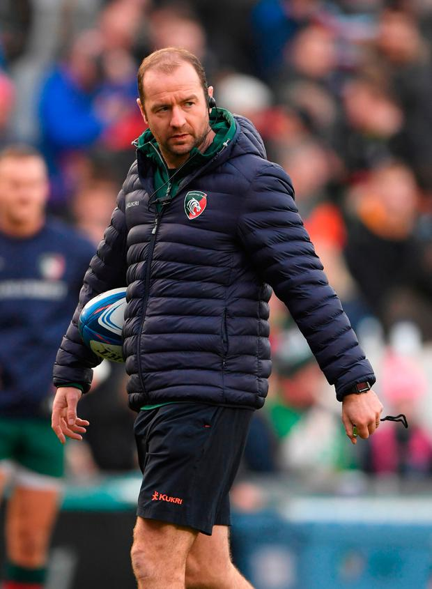 Murphy joined Leicester as a player in 1997 and is now interim head coach during one of the bleakest periods in the Tigers' history. Photo by Stu Forster/Getty Images