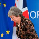 'May has vehemently denounced the idea of a second Brexit vote. But she is no stranger to screaming political U-turns on Brexit' Photo: AFP/Getty Images