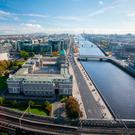 'Savills said that some Dublin office occupiers, as in the United Kingdom, are using flexible workspace to mitigate Brexit uncertainty.' Stock picture