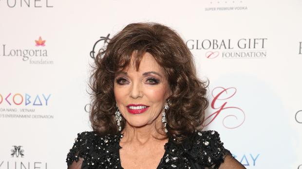 Joan Collins has warned that sexual advances will soon be forbidden. (Isabel Infantes/PA)