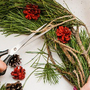 No beginning or end: A Christmas wreath