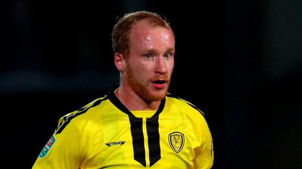 Different paths: Liam Boyce grew up in the predominatly Catholic area of Belfast's Lower Falls. Photo: Getty Images
