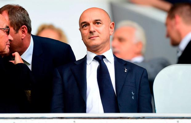Tottenham chairman Daniel Levy confirmed there will be a further stadium update in the week beginning January 7. Photo: PA