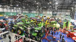 The performance of the tractor market has rallied significantly. Photo: Alf Harvey/HR Photo