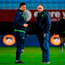 Dave Heffernan of Connacht, left, with head coach Andy Friend. Photo: Sportsfile