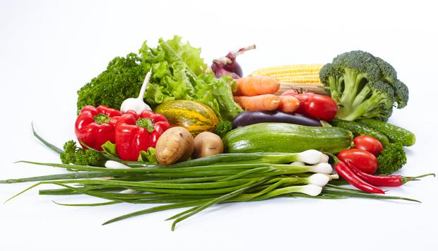 Saba is the producer of washed and ready-to-eat salads. Stock image