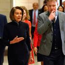 Symbolic: House Minority Leader Nancy Pelosi arrives for a briefing on the death of Saudi journalist Jamal Khashoggi on Capitol Hill. Photo: REUTERS/Joshua Roberts
