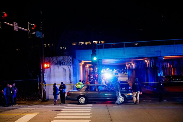 CPD officers killed by train while investigating shooting near tracks