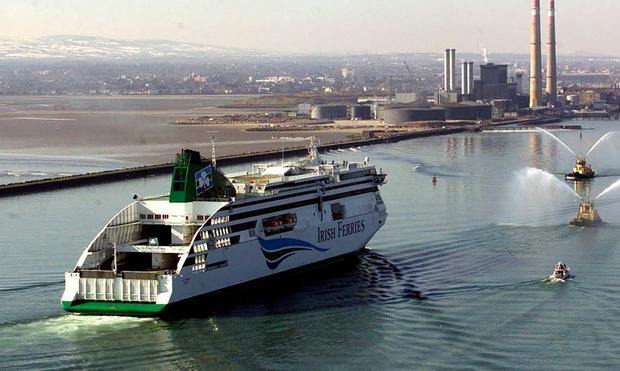 Service sinks: Irish Ferries claims passengers prefer to sail to France from Dublin instead of Rosslare. PA Photo