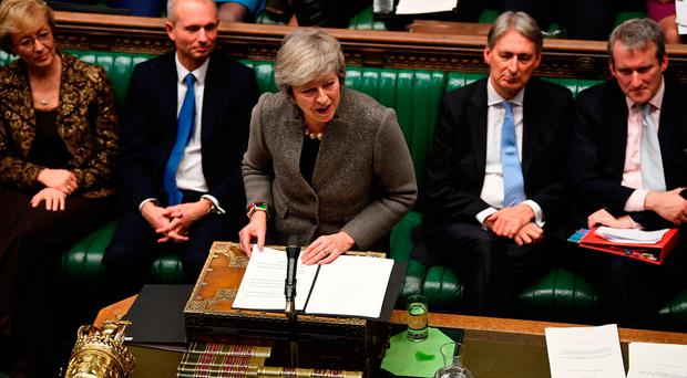 Deal: Theresa May has been accused of 'psychological warfare'. Photo: UK Parliament/Jessica Taylor/PA